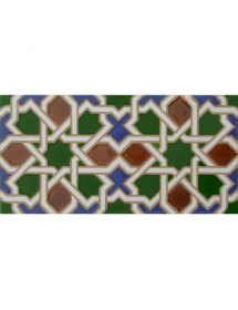 Faïence arabe relief MZ-006-00