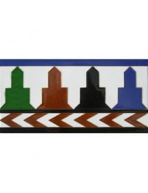 Azulejo Árabe relieve MZ-016-00