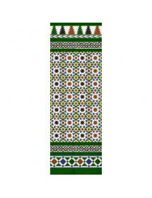 Mosaïque arabe couleurs MZ-M007-00