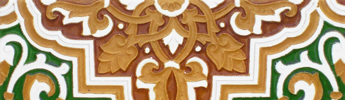 Sevillian colour tiles