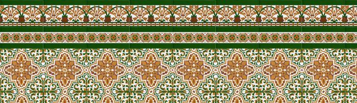 Mosaïque sévillan couleur