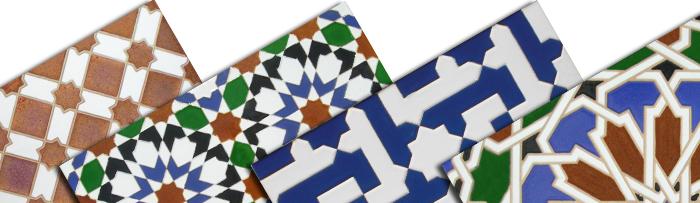 Azulejos relieve Árabes
