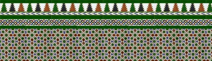 Mosaïque Arabe couleur